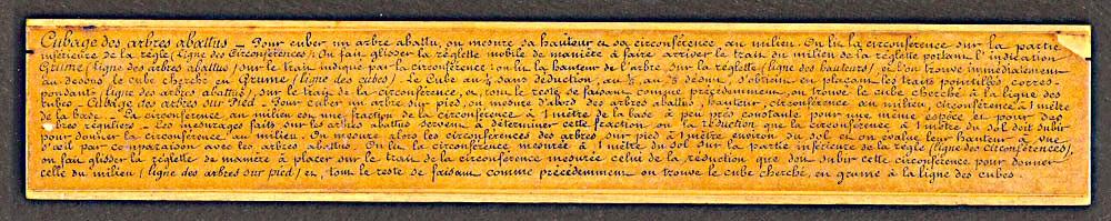 Tavernier Gravet Cubage des Bois ~ Calcul Cubage Bois